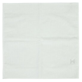エルメス タオル H102273M01 HERMES ソルド ベビー カレタオル QUARTZ コットン100% BLANC ホワイト ハンドタオル あす楽対応