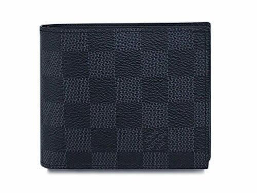 ハロウィン クーポン祭 ルイヴィトン N63336 財布 二つ折り 小銭付き財布 メンズ ダミエグラフィット ポルトフォイユ・マルコ NM2