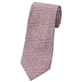 アルマーニ ネクタイ 360054 メンズ ジョルジオ アルマーニ ジャガード デザイン シルク100% ピンク/ライトピンク 30909 あす楽対応