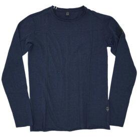 リプレイ Tシャツ M3252 REPLAY メンズ 長袖 丸首 ネイビー あす楽対応