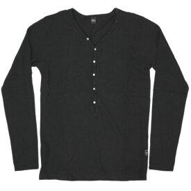 リプレイ Tシャツ M3323 REPLAY メンズ 長袖 ヘンリーネック ブラック Mサイズ 19304 あす楽対応