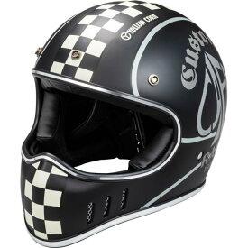 【あす楽】YBFH-001【マットブラック】【フリーサイズ】YC スペードカフェ ヘルメット イエローコーン