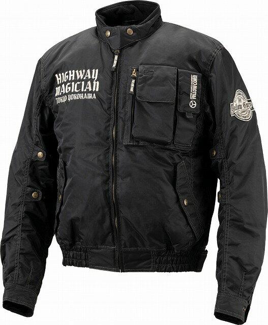 【メンズ】YB8300【ブラック】【Mサイズ】ウィンタージャケット イエローコーン【防寒】【プロテクター別売り】