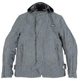 あす楽 パワーエイジ/POWERAGE ウォーターブロックオールシーズンパーカー バイク/ジャケット/メンズ グレー XLサイズ PJ-20301