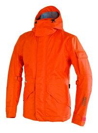 あす楽 パワーエイジ/POWERAGE Fountainスーツ バイクジャケット/メンズ/通年 シャインオレンジ XLサイズ PRM-337