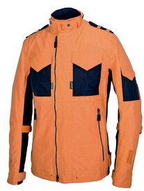 【あす楽】【メンズ】PJ-483【オレンジ/ブラック】【Mサイズ】GORE-TEXライトライダースパ ワーエイジ【オールシーズン】【ゴアテックス防水】【超撥水】【フライトジャケット】【日本製】【受注生産】