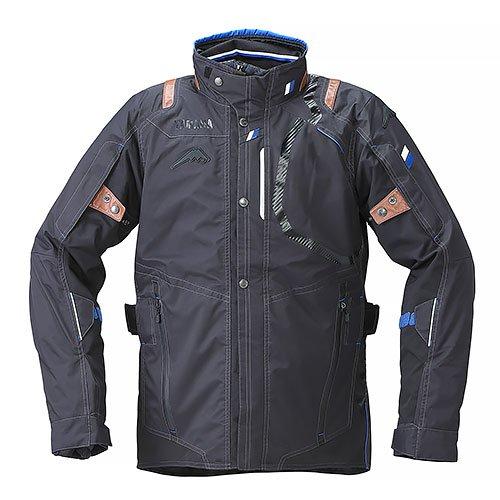 YAF53K【ブラック】【Lサイズ】Motoウィンターツーリングジャケット ヤマハ×クシタニ【防水】【脱着式防寒インナー装備】【ストームガード】【肩・肘・背中プロテクター標準装備】