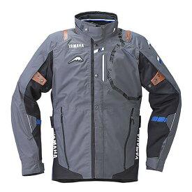 YAF53K【グレー】【LLサイズ】Motoウィンターツーリングジャケット ヤマハ×クシタニ【防水】【脱着式防寒インナー装備】【ストームガード】【肩・肘・背中プロテクター標準装備】