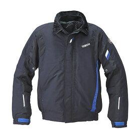 YAF55K【ブラック】【Lサイズ】Motoウィンターライディングジャケット ヤマハ×クシタニ【防水】【防寒】【防風】【肩・肘・背中プロテクター標準装備】