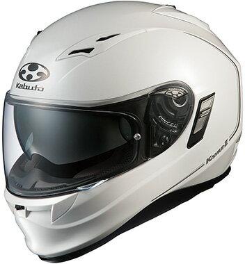 【あす楽】カムイ2【パールホワイト】ヘルメット カブト【インナーサンシェード】【フルフェイス】【店頭受取対応商品】