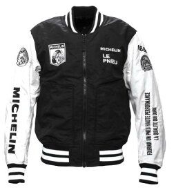 【あす楽】【メンズ】ML19101S【ブラック/アイボリー】【Mサイズ】アワードジャケット ミシュラン/MICHELIN【プロテクター別売リ】