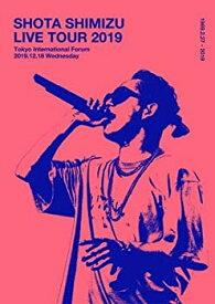【中古】【初回仕様限定版】SHOTA SHIMIZU LIVE TOUR 2019 (Blu-ray) (三方背スペシャルスリーブ仕様)