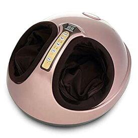 【中古】フットマッサージャーマシン - ホームオフィス&リモコン用の電気マッサージアキュポイントクナイジング指圧加熱
