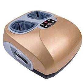 【中古】指圧式フットマッサージ機 - リリーフ疲れた筋肉のためのフットケアリリーフのための電気ディープニーディングローリングおよび空気圧縮ストレス