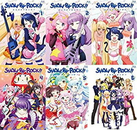 【中古】SHOW BY ROCK!! 特装限定版 全6巻セット [マーケットプレイス Blu-rayセット]