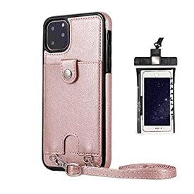 【中古】耐摩擦 手帳型 ケース iPhone 6 Plus プラス ケース アイフォン レザー 本革 アイフォン 財布型 カード収納 軽量 保護ケース 無料付防水ポーチ水
