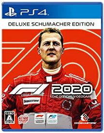 【中古】F1 2020 Deluxe Schumacher Edition - PS4 (【特典】「70周年」DLCコンテンツ、「F1 2020 Deluxe Schumacher Edition」用追加コンテンツDLC 同