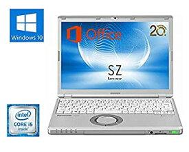 【中古】【Microsoft Office2016搭載】【Win10搭載】超軽量Panasonic Let's note CF-SZ5■第六世代 Core i5-6300U@2.4GHz/メモリ4GB/SSD 128GB/12.1イ