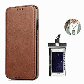 【中古】耐摩擦 手帳型 ケース Samsung Galaxy S8 PLUS プラス ケース サムスン ギャラクシー レザー 本革 アイフォン 財布型 カード収納 軽量 保護ケー
