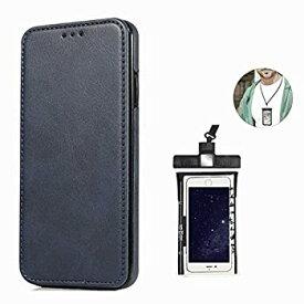 【中古】耐摩擦 手帳型 ケース Samsung Galaxy S9 PLUS プラス ケース サムスン ギャラクシー レザー 本革 アイフォン 財布型 カード収納 軽量 保護ケー