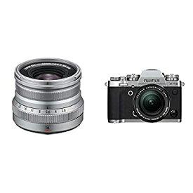 【中古】【セット買い】FUJIFILM 交換レンズ XF16mmF2.8 R WR S & FUJIFILM ミラーレス一眼カメラ X-T3レンズキット シルバー X-T3LK-S