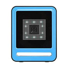 【中古】バーコードリーダー、Windows/OS X /用の耐久性のある有線1Dスキャナー(blue)