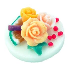 【ギフト・石鹸】li'ili'i リィリィ プチモハラソープ ローズイエロー ジャスミンティの香り
