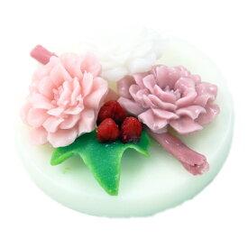 【ギフト・石鹸】li'ili'i リィリィ プチモハラソープ ダマスクローズピンク カシスティの香り