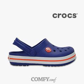 クロックス《キッズ》 クロックバンド/ セルリアンブルー/ Crocs/ Crocband Ks/ Ceruleane Blue◇クロックス正規取扱店◇ #Y