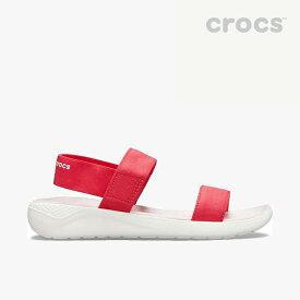 ▲-40%▼ クロックス《レディース》ライトライド サンダル/ポピー ホワイト/ CROCS/W LiteRide Sandal - Sandal/Poppy White #
