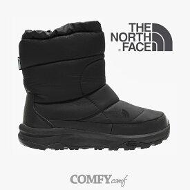・ノース フェイス《ユニセックス》ヌプシ ブーティー ウォータープルーフ VI/TNF ブラック/ THE NORTH FACE/Nuptse Bootie WP VI - Boot/TNF Black #ブーツ #ブーツ レイン 長靴 防水 撥水 GORE レインシューズ
