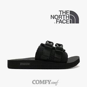 ・ノース フェイス《ユニセックス》ベース キャンプ ストラップ スライド/TNF ブラックxTNF ブラック/ THE NORTH FACE/Base Camp Strap Slide - Sandal/TNF BlackxTNF Black #サンダル シャワーサンダル 黒