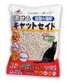 大容量の紙製の流せる猫砂15L