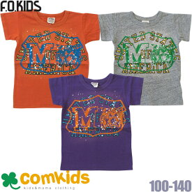 【メール便のみ送料無料】50%OFF F.O.KIDS(エフオーキッズ)ヴィンテージ加工Tシャツ(エフオーキッズ 子供服)100cm110cm120cm 子供服SALE(セール)