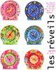 (babywatch and babewatch) alarm clock (pink garden) (children's alarm clock kids / BABY WATCH) (with more than 5,400 Yen)