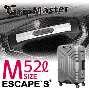 スーツケース Mサイズ 3〜5泊 持ち上げやすいハンドル グリップマスター搭載 上下ハンドル フレームタイプ ダブルキャスター TSAロック付き 1年保証付き 目立つ siffler シフレ B5225T-58