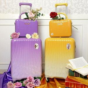 スーツケース 機内持ち込み Sサイズ ディズニー プリンセスシリーズ 美女と野獣 ベル 塔の上のラプンツェル レディース ジッパータイプ シフレ LUN2214-50