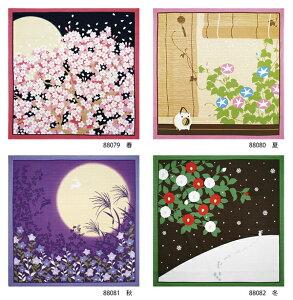 日本製 小風呂敷 花景色 約50×50cm タペストリー 和柄 季節柄 インテリア雑貨 国産 風呂敷き お弁当 おしゃれ 包み 和風 和モダン かわいい 和雑貨 花柄 上品 女性 桜