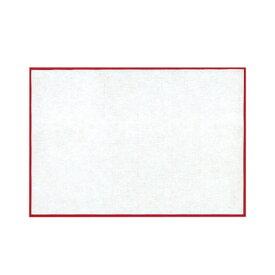 長角・大(100組入) 貼合せ 紅白懐敷 キッチン 日本製 かいしき 使い捨て食器 使い捨て皿 日本製 料理演出 和食料理 飲食店 ホテル 旅館