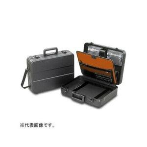エンジニア パネル付 アタッシュケース L413×W306×H122mm ショルダーベルト・カギ付 KSE−31 ABS製 ポケット 機能性 収納力 軽量 丈夫 工具箱 作業箱 工具バッグ 鍵付き ツールキット ツールケース