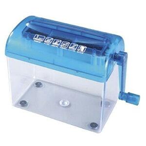 サンワサプライ ハンドシュレッダー 手動 PSD−12 お手軽 電源不要 コードレス ハンドル式