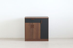 日本製 幅120cm 間仕切りカウンターテーブル キッチンカウンター 収納 間仕切り 木製 テーブル キッチンボード レンジ台 収納棚 ウォールナット 北欧 モダン ミッドセンチュリー おしゃれ 高