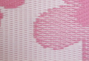 PPラグ日本製「ハローキティラブリー」ピンク