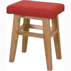 スツール 木製 天然木 バンビスツール 腰掛け いす イス 椅子 チェアー 玄関 キッチン 台所 リビング コンパクト レトロ モダン 北欧 ブルックリン 西海岸 男前 インテリア おしゃれ シンプル アンティーク 姫系 カントリー かわいい 高級感 レッド