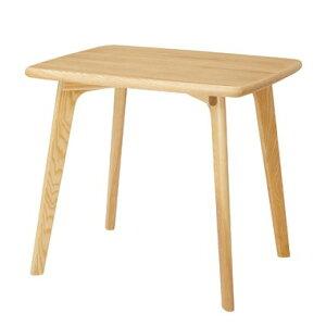 ダイニングテーブル 単品 ダイニング テーブル 天然木 アッシュ 木製 おしゃれ 机 つくえ 作業台 食卓テーブル 2人用 2人掛け テーブル 幅80cm モダン 北欧 西海岸 インテリア 一人暮らし