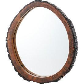 鏡 壁掛け 壁掛 ウッドミラー コンパクト ウォールミラー ミラー かがみ カガミ 木製 レトロ アンティーク レトロ モダンヨーロピアン おしゃれ