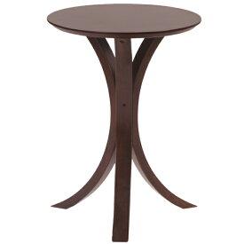 サイドテーブル 幅40cm 木製 スリム コンパクト ナイトテーブル ベッドサイドテーブル ソファーサイドテーブル レトロ モダン 北欧 ブルックリン 西海岸 男前 インテリア おしゃれ アンティーク ブラウン