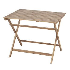 送料無料 折りたたみテーブル 幅90cm 木製 天然木 アカシア ガーデンテーブル フォールディングテーブル アウトドア キャンプ ガーデンファニチャー カフェ オープンテラス バルコニー テラ