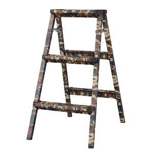 脚立 折りたたみ ステップ台 アルミ スツール 木目 花台 迷彩柄 踏み台 昇降運動 おしゃれ 2段 折り畳み シンプル 折り畳み踏み台 台 はしご 階段 引越し 洗車 大掃除 レトロ モダン 北欧 ブル