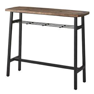完成品 カウンターテーブル 幅120cm 高さ101cm アイアン ハイテーブル カフェテーブル バーカウンター テーブル 作業台 つくえ 机 レトロ モダン 北欧 ブルックリン 西海岸 男前 インテリア お